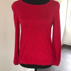 Banana Republic Cherry red sweater